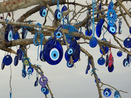 Eye, Blue Eye, Tree, Nazar, Turkey, Ban, Avert