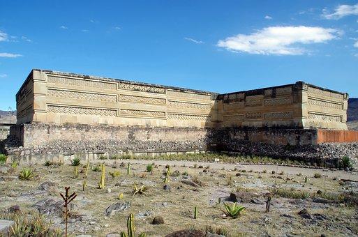 Mexico, Mitla, Mixtec, Zapotec, Archaeology, Greek