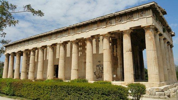 Athens, Greece, Ancient, Historic, Agora