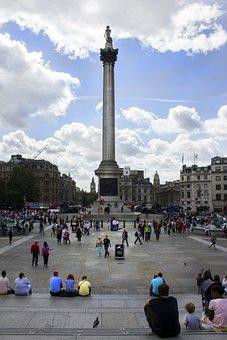 Piazza, Center, London, Architecture, Hangout, City