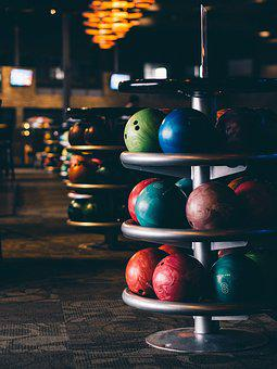 Blur, Bowling, Bowling Alley, Bowling Bowl