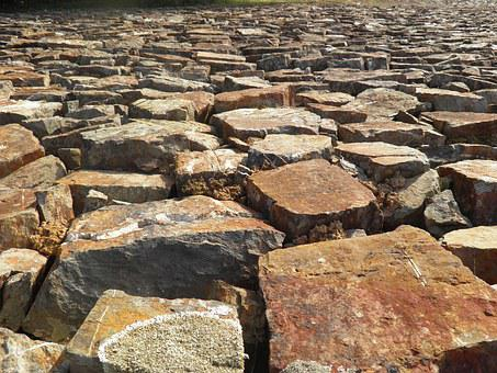 Background, Cobbles, Stones, Granite Sets, Calcada