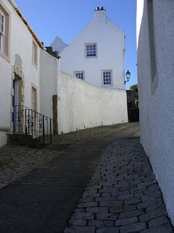 Houses, Old Houses, Cobbles, Cobbled, Wynd, Dysart