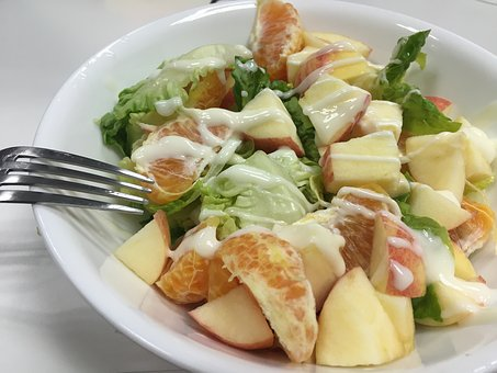 Salad, Food, Healthy, Lunch, Meal, Diet, Dinner, Plate