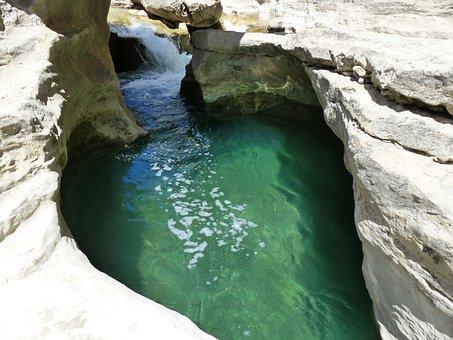 Nature, Water, Roche, Washbasin, Gargoyle, Erosion