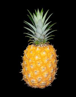 Pineapple, Fruit, Citrus, Food, Sweet, Dessert, Healthy