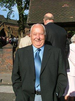 Happy Man, Wedding, Sun, Marriage, West Midlands, Suit