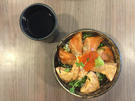 Food, Salmon, Bowl, Healthy, Gourmet, Tasty, Delicious