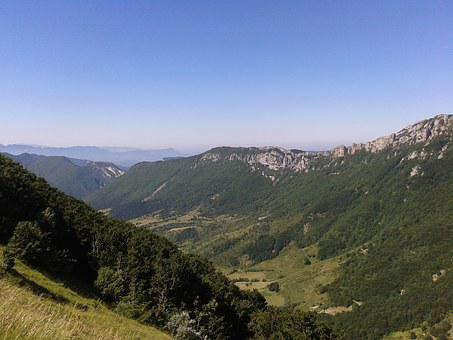 Vercors, Mountains, Landscape, Hiking, Nature