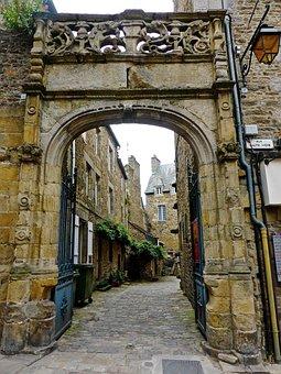 Arch, Entrance, Entry, Old Town, Laneway, Gateway