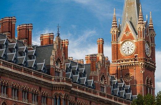 London, England, Great Britain, Buildings, Historical
