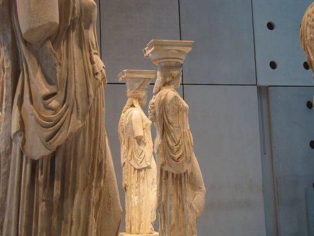 Caryatids, Acropolis, Museum, Athens