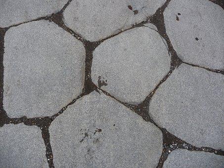 Blocks, Cobble, Pompeii, Stone, Paving, Pattern, Ground