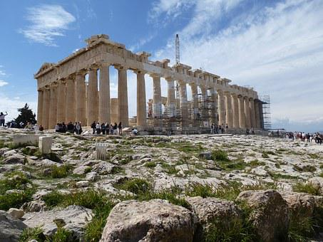 Greece, Acropolis, Parthenon, Athens, Temple