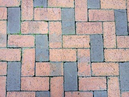 Brick, Ground, Texture, Construction, Stone, Street