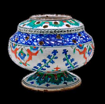 Pierced Flower Vase, Vase, Flower Vase, Turkey, Iznik