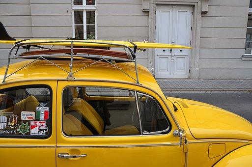 Vw Beetle, Auto, Volkswagen, Porter, Classic, Beetle