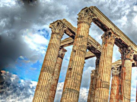 Temple, Zeus, Athens