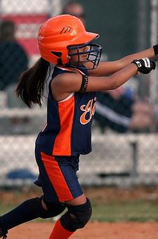 Softball, Girls, Player, Game, Athlete, Sport, Female