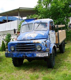 Old Truck, Veteran Car, Doelsach, Austria