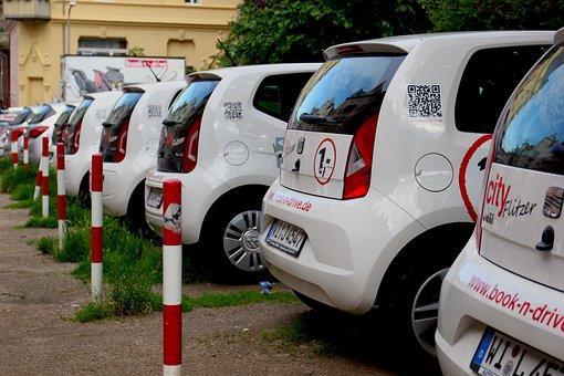 Carsharing, Car Rental, Auto, Car, Parking, Vw, Up
