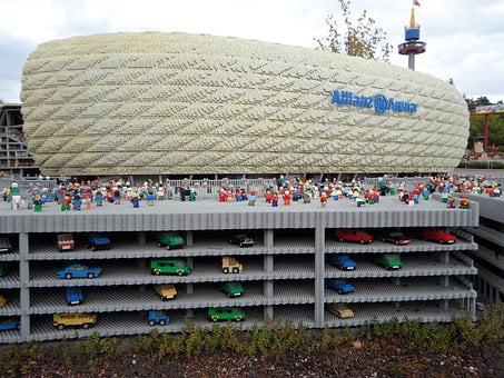 Allianz Arena, Football, Bayern Munich, Legoland, Lego