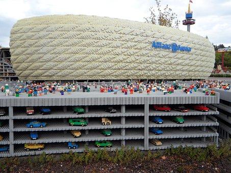 Allianz Arena, Football, Bayern Munich, Legoland, Lego