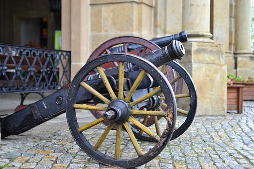 Cannon, Armament, Castle, Knighthood, Crafts War
