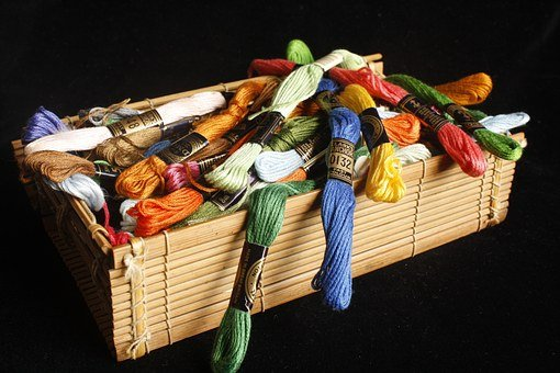 Thread, Embroidery, Sewing, Craft, Color, Needlework