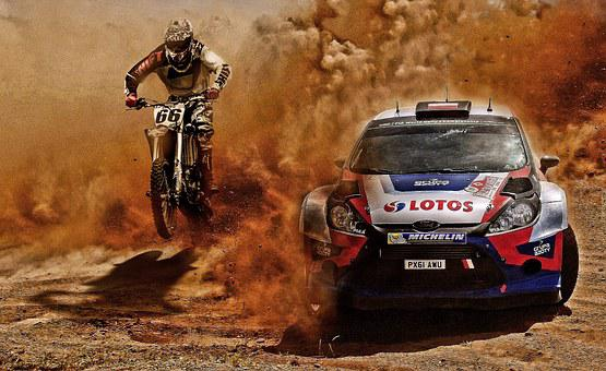 Rally, Single Seater, Racing, Machine, Sardinia, Dirt