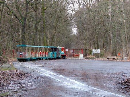 Train, Plänterwald, Old, Spree River Park, Discarded