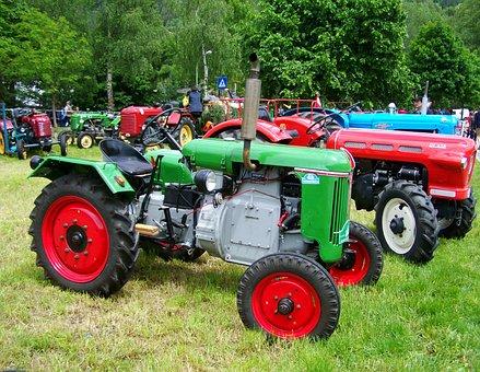 Old Tractors, Veteran, Doelsach, Austria