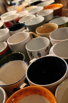 T, Cup, Tee, Coffee, Drink, Tableware, Coffee Mugs