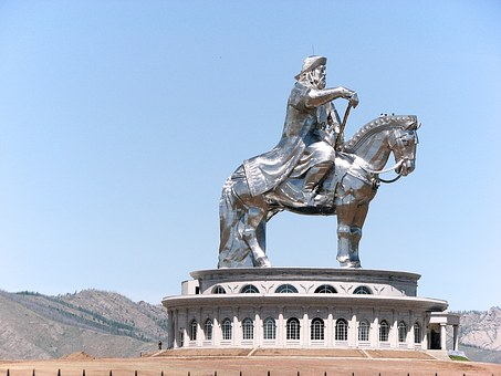 Monument, Genghis Khan, The Horse, Mongolia, Step