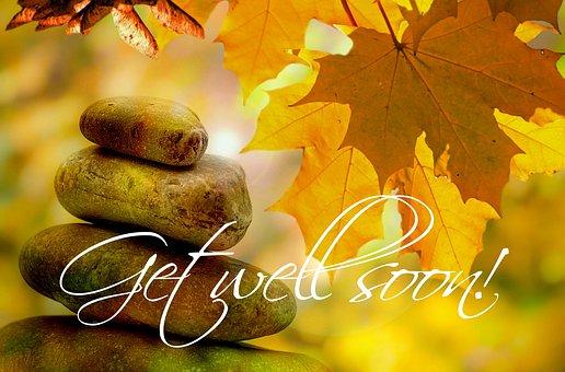 Get Well Soon, Autumn, Tree, Trees, Leaves, Wellness