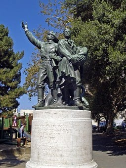 Monument, Statue, Usa, Landmark, Historic, Famous