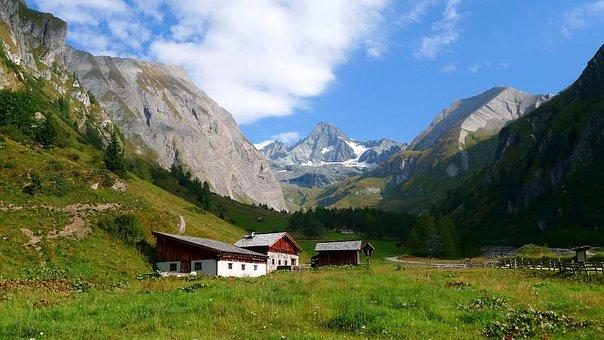Mountains, Grossglockner, Highest Mountains In Austria