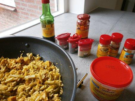 Nassi Goreng, Indian, Cooking