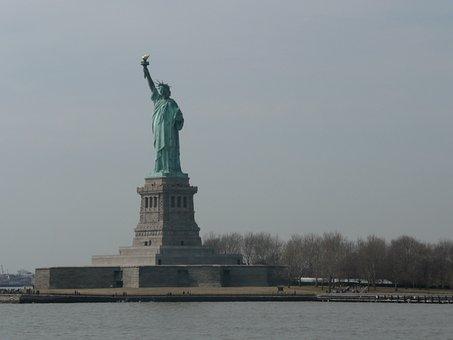 New York, Statue Of Liberty, Ellis Island