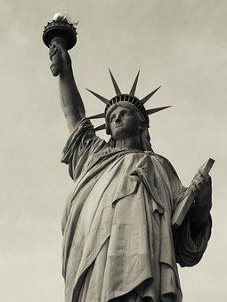 Statue Of Liberty, Ellis Island, New York, Patriotic
