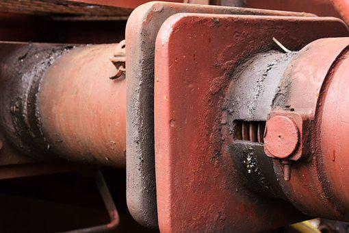 Clutch, Train, Railway, Transport, Traffic, Old