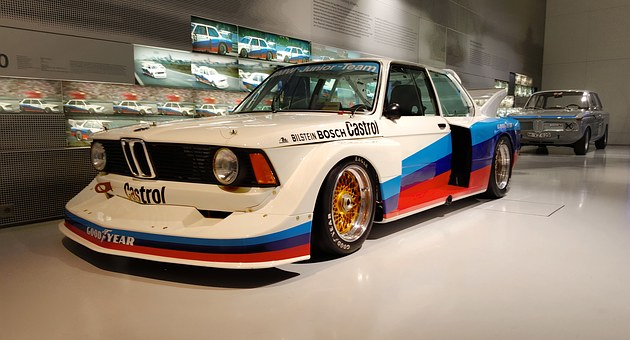 Bmw, Racing Car, Auttorennen, Sport, Race Track, Csl