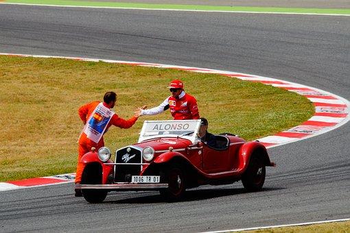 Race Track, Alonso, Formula 1, Racing Car