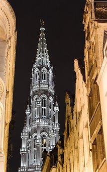 Brussels, Large Square, Saint Michel, Belgium