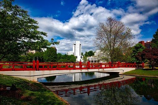 Huntsville, Alabama, Big Springs Park, Sky, Clouds