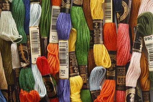 Thread, Embroidery, Sewing, Craft, Floss, Colorful