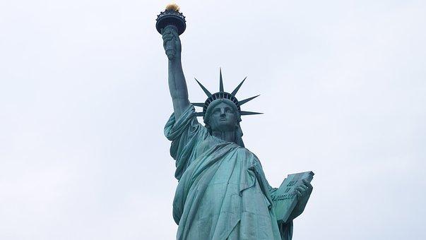 New York, Statue Of Liberty, United States, Big Apple