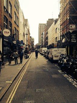 London, Street, City, Urban, England, Capital, Town