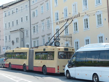 Trolley Bus, Bus, Traffic, Road, Vehicle