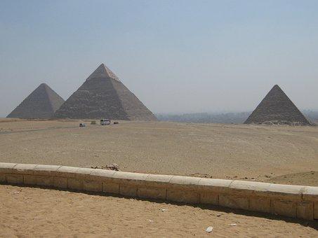 Egypt, Giza, Pyramid, Tourism, Ancient, Architecture